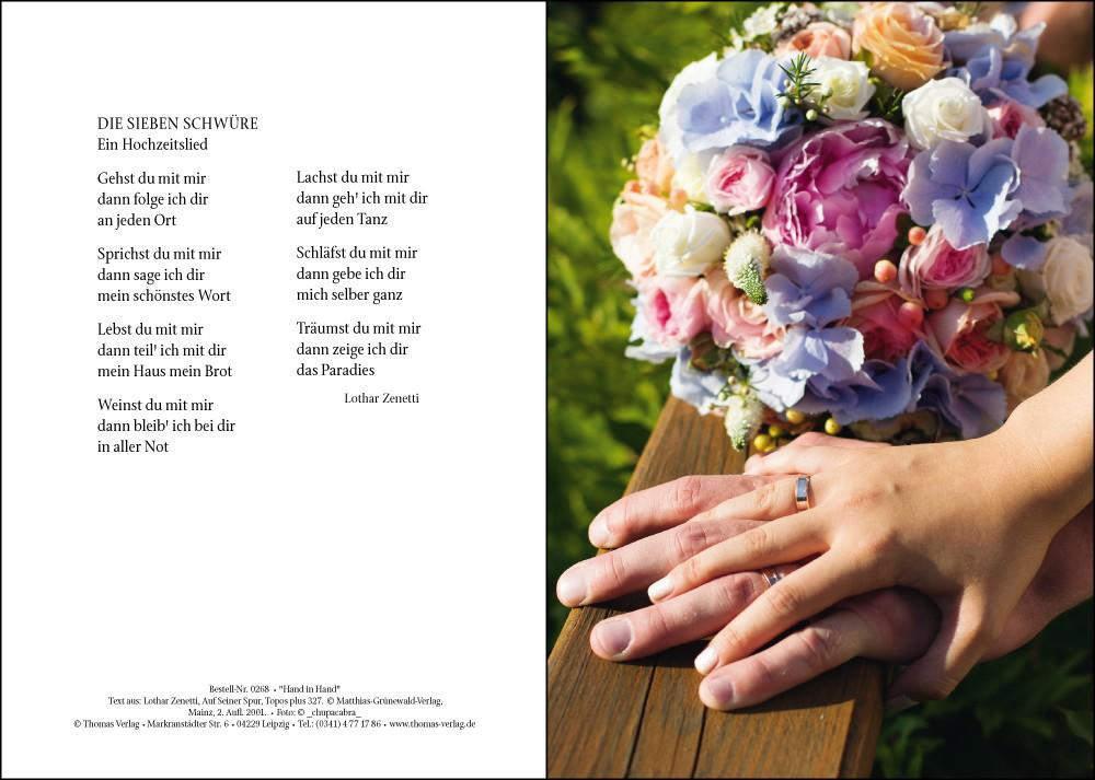 Eheschliessung Hand In Hand Altes Motiv Thomas Verlag Leipzig
